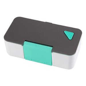 拜杰(Baijie)日式塑料单层学生保温饭盒便当盒儿童微波炉加热餐盒手机饭盒4.95元