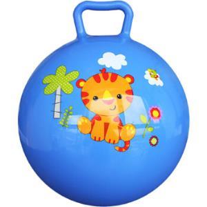 费雪(Fisher Price)儿童玩具球 宝宝小皮球摇摇球10寸(蓝色 赠送打气筒)F0601H1 *2件21.9元(合10.95元/件)