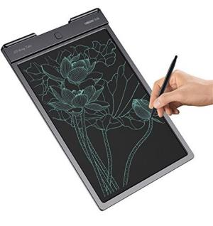 乐写13寸液晶手写板儿童画板涂鸦板lcd写字板办公电子绘画板 (黑色, 13寸)124元