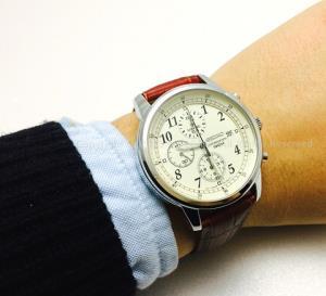 SEIKO 精工 Chronograph系列 SNDC31 男士计时时装腕表1055.12元