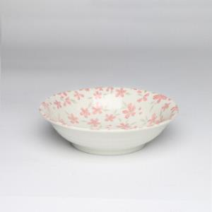 美浓烧(Mino Yaki) 美浓烧日式陶瓷餐具菜盘家用套装碟碗盘子组合点心寿司平盘 6.5英寸小盘 *8件198.4元(合24.8元/件)