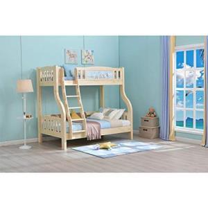 Sampo 松堡王国 北欧松木双层儿童床 全实木高低床子母上下床 SP-MC205S3888元