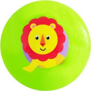 费雪Fisher-Price 充气玩具球 宝宝手抓摇铃球婴幼儿童小皮球卡通拍拍球10cm 绿色狮子F09299.95元