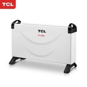 TCL 取暖器家用/电暖器/欧式快热炉/暖风机 暖气 电热 三档温控TN-D20D *3件177元(合59元/件)