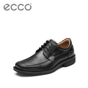 ECCO爱步潮流商务皮鞋 秋冬时尚简约舒适低帮系带鞋 斯雅图600294 1349元