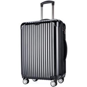 VICTORIATOURIST 维多利亚旅行者 拉杆箱PC+ABS商务旅行箱行李箱男 28英寸万向轮海关锁5518黑色208元