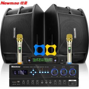 纽曼 (Newmine) KW-230 家庭影院KTV音响组合套装 10英寸家用会议舞台功放音响设备(标准麦克风版)1298元