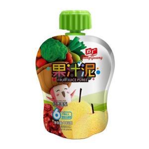 方广 宝宝营养辅食 果汁泥103g(6个月以上适用) *5件10元(合2元/件)