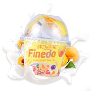 健桥纤动益生 黄桃芒果味 138g*3 纤动益生谷物组合风味发酵乳29.7元