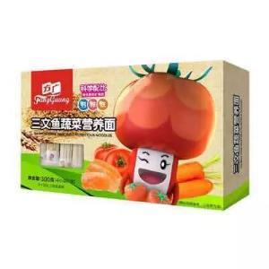 FangGuang 方广 三文鱼蔬菜营养面条 300g14.9元包邮(拼团价)