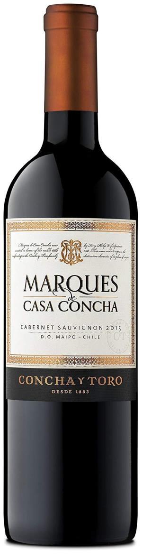 Marques de Casa Concha 干露侯爵卡本妮苏维翁红葡萄酒750ML 130元
