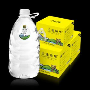 天地精华 桶装水整箱天然矿泉水 4L*4桶*36箱 1239元
