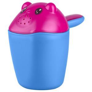 世纪宝贝babyhood 小熊熊宝宝洗头杯 婴儿童花洒浴勺洗澡水勺 蓝色 BH-713 *2件22元(合11元/件)
