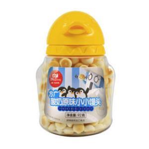 方广 儿童零食 饼干 奶豆 溶豆 酸奶原味小小馒头92g *11件 208元(合18.91元/件)