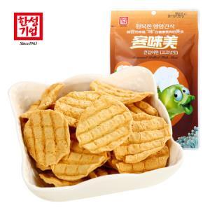 韩国进口 客��美大嘴鱼片椰子味30g 非膨化非油炸鳕鱼片休息零食 *13件