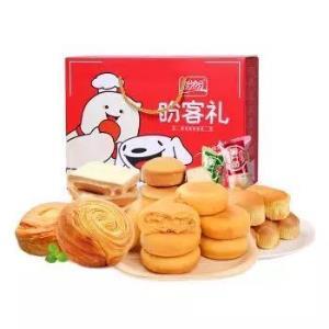 盼盼 面包饼干蛋糕大礼包整箱礼盒装1090g *5件