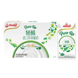 安佳(Anchor)进口常温酸奶 轻醇巴氏杀菌热处理风味发酵乳 200ml*37.42元