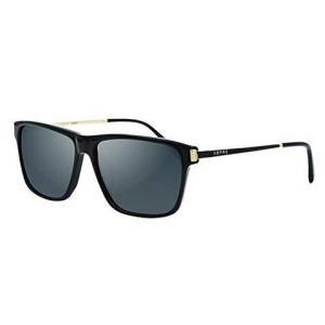 美国S.B.P.R.C圣大保罗 潮男款高清偏光墨镜板材时尚驾驶镜PO25053 C025黑框(亚马逊自营商品, 由供应商配送)