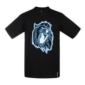 范思哲 范瑟丝 VERSACE VERSUS 奢侈品 春夏款 男士黑色棉质圆领短袖T恤 BU90546 BJ10289 B7008 L码599.5元