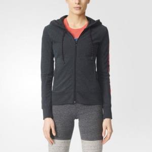 Adidas 阿迪达女子运动针织连帽夹克外套B49862159.5元