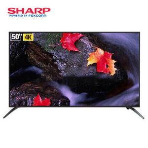 SHARP 夏普 LCD-50Z4808A 50英寸 4K液晶电视2478元包邮