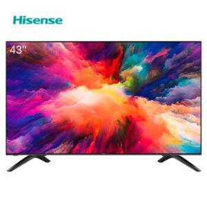 海信(Hisense)HZ43E35A 43英寸 AI智能操控 全高清平板电视机1488元