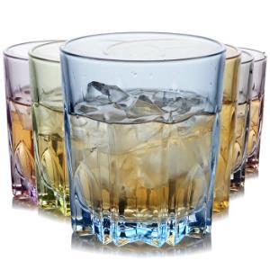 克芮思托 NC-8556玻璃杯果汁杯饮料杯茶杯皇马炫彩水杯300毫升六只装套装 *5件    99.5元(合19.9元/件)