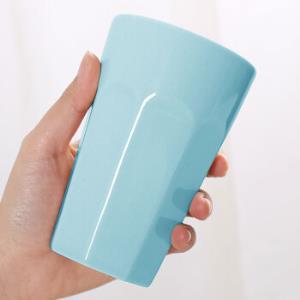 承文�w 陶瓷杯时尚简约马克杯 蓝色 *16件 106.4元(合6.65元/件)
