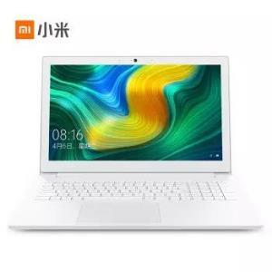 小米 (MI)Ruby 15.6英寸金属轻薄笔记本电脑(I3-8130U 4G 256G SSD FHD 全键盘 正版Office Win10 ) 经典白 3399元
