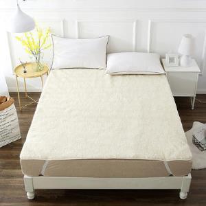 当当优品 羊羔毛床垫 纯羊毛全棉防潮床垫 90*195cm 99元包邮