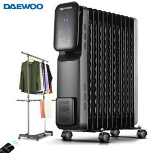 大宇(DAEWOO) 电暖器 DWH-O2001E 429元