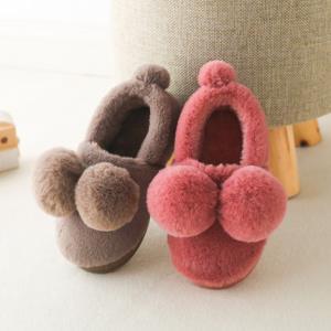 悦咖 儿童包跟棉拖鞋 12.8元包邮