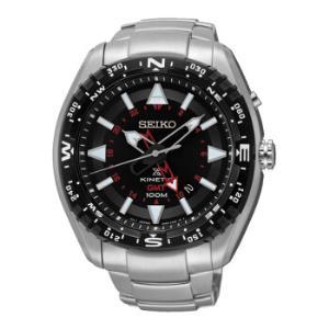 精工 SEIKO 手表 Prospex GMT两地时间人动电能指南时尚运动休闲金属男表SUN049J11785元
