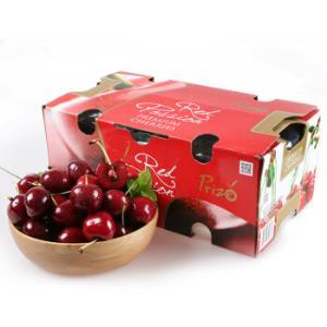 智利进口礼盒原箱车厘子2kg大果 J级(果径26-28mm)大樱桃 新鲜水果129元