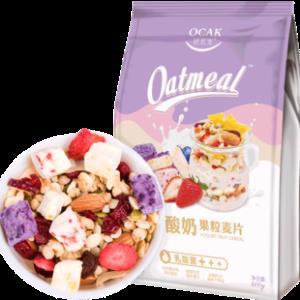 欧扎克 乳酸菌果粒麦片400g 券后¥39.8