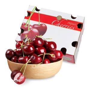 智利原装进口车厘子J级 约2.5kg礼盒装 果径约26-28mm 年货礼盒 新鲜水果199元