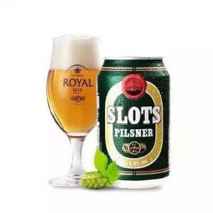 丹麦进口啤酒(royal)皇家碧域比尔森黄啤酒330ml*4听 四连包 7.8元图片