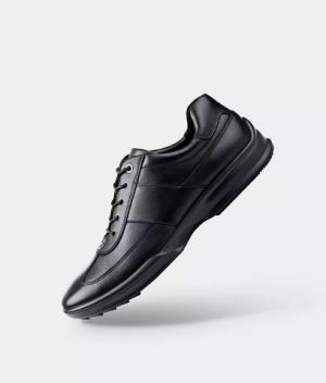 小米有品 七面一体成型运动缓震皮鞋389元