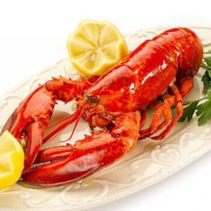 纯色本味 熟冻加拿大龙虾 (波士顿龙虾) 350-400g/只/盒 礼盒装 *3件199.7元(合66.57元/件)