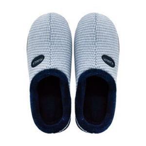 GieniG 男女款家居室内防滑木地板情侣保暖舒适短毛绒休闲半包跟棉拖鞋男款 GI186802 湖蓝色 45-4611.04元
