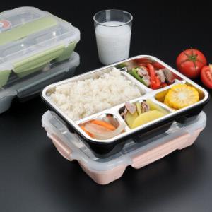 304不锈钢保温饭盒送不锈钢筷勺49元