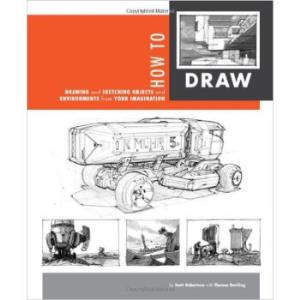 《怎样画画:绘制和物体素描 How to Draw: Drawing and Sketching Objects and E》英文原版