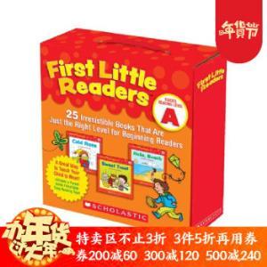 《 First Little Readers A 小读者系列家长阅读指导》25册