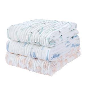 gb好孩子婴儿浴巾纯棉超柔吸水秋冬款新生儿童浴巾纱布婴儿抱被 79元
