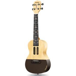 智能尤克里里populele初学者学生成年人小吉他吉它迷你乌克丽丽初学者23寸(附赠琴包)409元