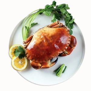 Clearwater/北极清水 英国进口熟冻面包蟹/黄金蟹 大螃蟹 800-1000g/只 袋装 海鲜水产年货 蟹钳肉厚80.2元