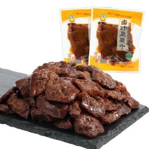 来伊份 休闲零食 豆制品 香干素食 豆干小吃 卤汁豆腐干125g/袋 *10件55元(合5.5元/件)