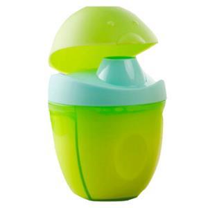 MDB便携奶粉盒 三格便携大容量奶粉密封罐零食存储盒 绿色14.5元
