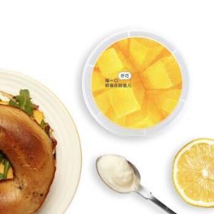 LEPUR 乐纯 纤巧系列 风味发酵乳 芒果菠萝三三三倍 80g *24件150元(合6.25元/件)