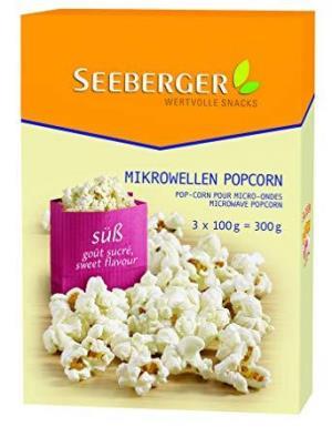 Seeberger 希贝格微波炉爆米花 甜味 8包240.08元